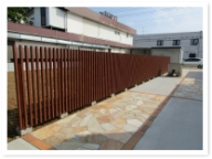 IMG_1461千葉市内素敵なフェンスと石貼り